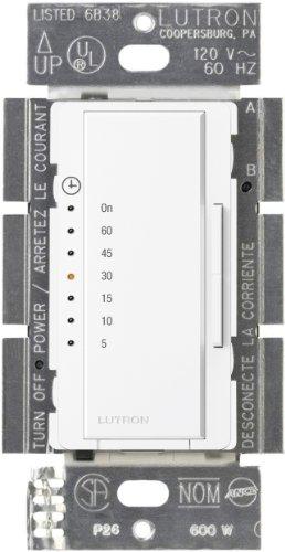 Lutron MA-T51-WH Maestro Countdown Timer, White (Bath Fan Switch compare prices)