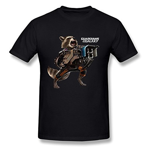 Temporal(TM) Men's More Exciting Guardians Of The Galaxy Footage T-shirt