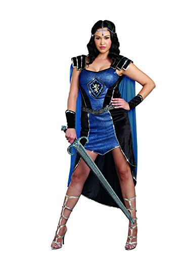 Dreamgirl Sexy Women's Plus-Size Royal Warrior Costume, King Slayer Female
