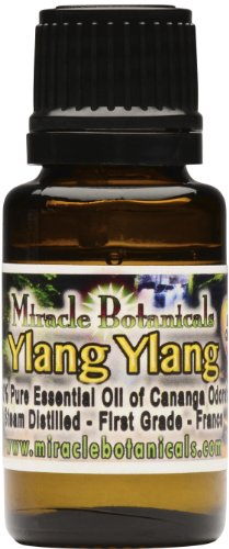 Ylang Ylang Essential Oil, French (1st Grade) - 100% Pure Cananga Odorata 15ml
