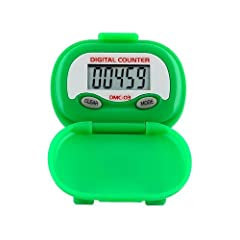 Buy DMC-03 Multi-Function Pedometer (color: GREEN) by Heart Rate Monitors