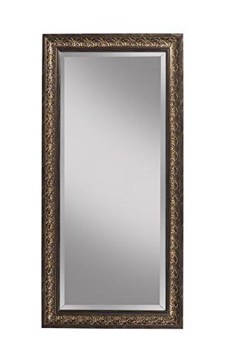 Sandberg Furniture Andorra Full Length Leaner Mirror, Cognac Ash