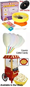 "15"" Mini Home Kids Cotton Candy Machine Maker"