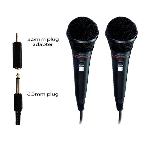 Universal Microphone - Philips - Karaoke - 2 Pack front-548325