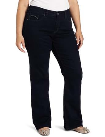 Levi's Women's Plus-Size 512 Boot Cut Jean,  Soulful Dark,  16-Short
