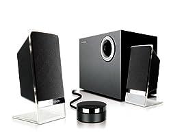Microlab 2.1 Multimedia Speaker System M-200 Platinum