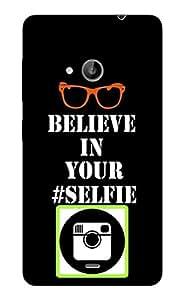 Blink Ideas Back Cover for Nokia Lumia 535