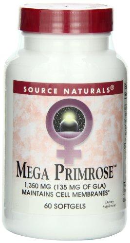 Source Naturals Mega Primrose (Eternal Woman), 60 Softgels