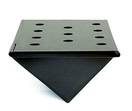 Charcoal Companion CC4056 Non-Stick Gas Grill V-Shape Smoker Box, Short