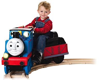 Battery Operated Track Rider Train