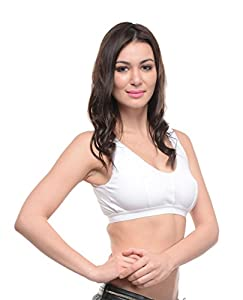 Bodycare White Non-Padded Cotton Bra (1607W)