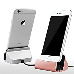 Bluebill Basic Charge and Sync Dock with Lightning 8pin Cable Connector for iPhone 5 , SE ,6, 6s,6 Plus (Mix Color)