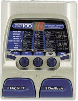 Напольная педаль мультиэффектов DigiTech RP100A Multi Effect Pedal