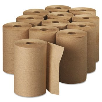 Kimberly-Clark 02021 Scott Hard Roll Towels, 8 X 400, Natural, 12/Carton front-288699