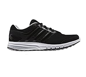 adidas Men's Galaxy Elite 2 M Running Shoe, Black/Black/Clear Grey, 8 M US