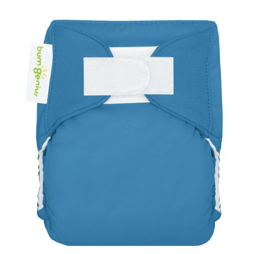 Bumgenius Newborn Cloth Diaper - Moonbeam front-990727