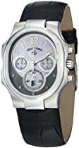 Philip Stein Classic Chrono Ladies Black Strap Watch 22-FGR-AB