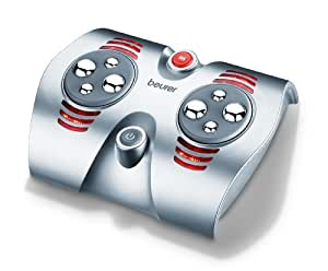 Beurer FM38 - Zona de masaje para tus pies, 30 W, color silver