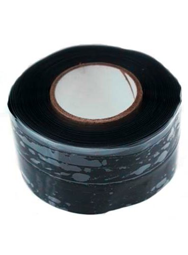 Gardner Bender HTP-1010 Repair Tape All Purpose, Silicone Self-sealing, 1-Inch Wide X 10-Feet Long X 20 mil Thick, Black