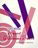 img - for Workbook for La Grammaire a l'oeuvre, 5th book / textbook / text book