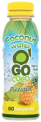 Go Coco Coconut Water with Pineapple 330 ml (Pack of 6)