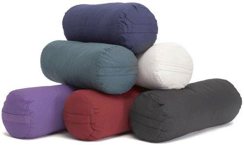 Imagen de YogaAccessories (TM) de apoyo Ronda Algodón Yoga Bolster - Sage, Sage color