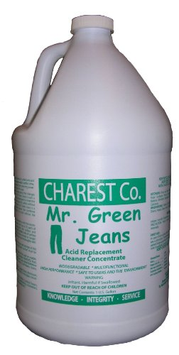 Mr. Green Jeans Acid Free, Descaler, Delimer, Cleaner Highly Concentrated One Gallon