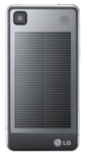 LG GD510 POP SolarAkku Edition Smartphone (7.6 cm (3 Zoll) Display, 3MP) silber