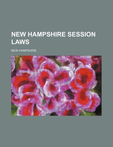 New Hampshire session laws