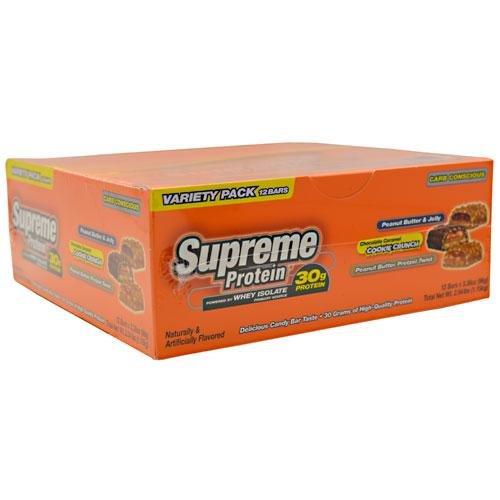 Supreme Protein - Carb Conscious Bars - Peanut Butter Pretzel, Caramel ...