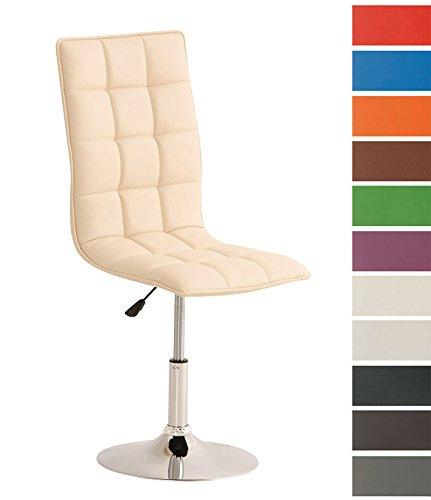 CLP-moderner-Esszimmer-Stuhl-PEKING-Lounge-Sessel-Charakter-Sitzhhe-verstellbar-40-54-cm-Sitzflche-drehbar-bis-zu-12-Farben-whlbar-creme