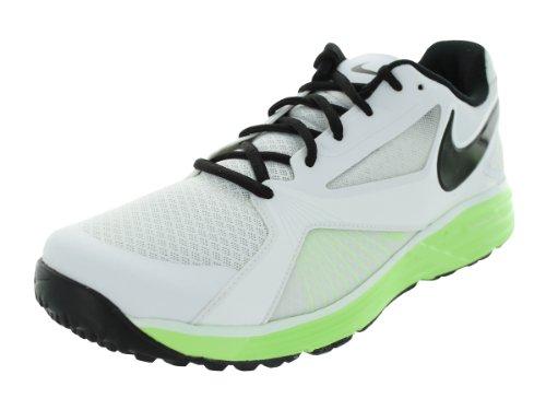 Nike Men's Lunar Edge 15 White/Black/Flash Lime Training Shoes 7.5 Men US
