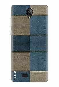 Noise Designer Printed Case / Cover for Swipe Konnect Plus / Patterns & Ethnic / Denim Blocks Design