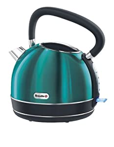 Breville Rio Teal Stainless Steel Traditional Kettle