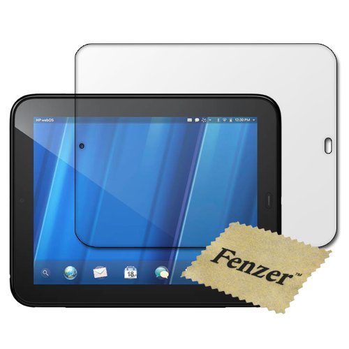 Fenzer Clear Screen Protector For Hp Touchpad 10.1 Inch Tablet Transparent Lcd Touch Screen Film Guard Cover Shield With Cleaning Cloth