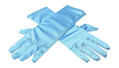 HXL.Online Girls Frozen Elsa Princess Blue Gloves Costume Age 3-7 Accessories Gift
