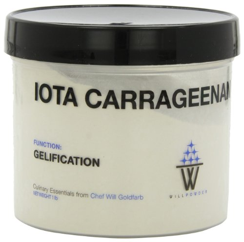 Willpowder Iota Carrageenan, 1-Pound