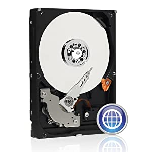 Western Digital 500 GB Caviar Blue SATA 3 Gb/s 7200 RPM 16 MB Cache Bulk/OEM Desktop Hard Drive - WD5000AAKS