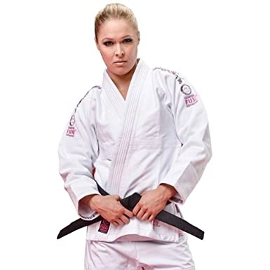 Fuji Sports Ladies Pink Blossom BJJ Gi - White