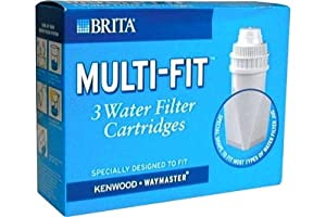 brita multifit cartouche filtre eau lot de 3 home kitchen. Black Bedroom Furniture Sets. Home Design Ideas
