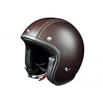 OR001182 - Casque Origine Primo Classico Cuir Marron Tabac Xs