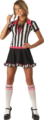InCharacter Costumes Teen Racy Referee Costume