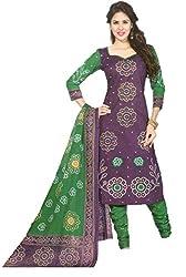 SSKP Women's Cotton Dress Material (FE_69_Multi-Coloured_Free Size)