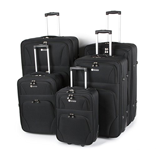 ITP 5 pezzi set Composto da 34, 31, 28 più 22 e 19 pollici di dimensioni cabina trolley