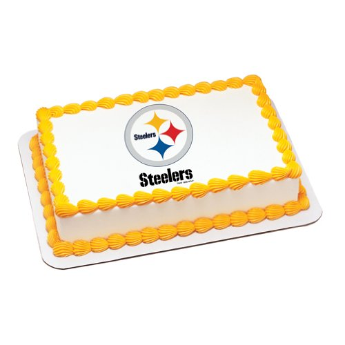NFL Pittsburgh Steelers Edible Cake Image Topper