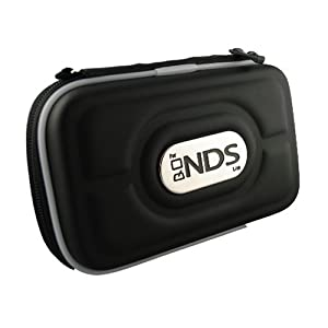 nintendo ds nds lite airform carrying case black video games. Black Bedroom Furniture Sets. Home Design Ideas