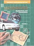 Teacher's Wraparound Edition Mathmatics Applications and Connections Course 3 (0028240669) by Various Authors