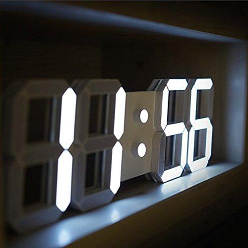 Joo korea 3D LED 壁掛け時計,USB ADAPTER 100V~220V,DC5V[海外直送品]