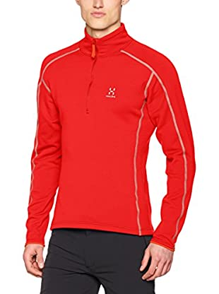 Haglöfs Forro Polar Mid Layer Stretch (Rojo)