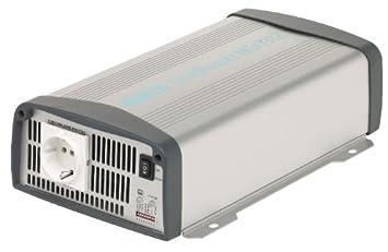 mit 2 Steckdosen 12 auf 230 V Pro User 16592 Spannungswandler 600 W